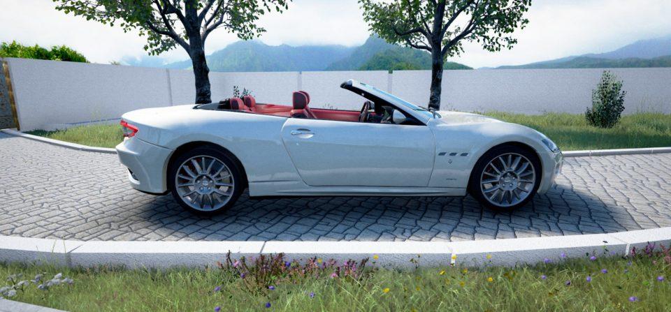 Maserati GranCabrio 01 (Unreal Engine)