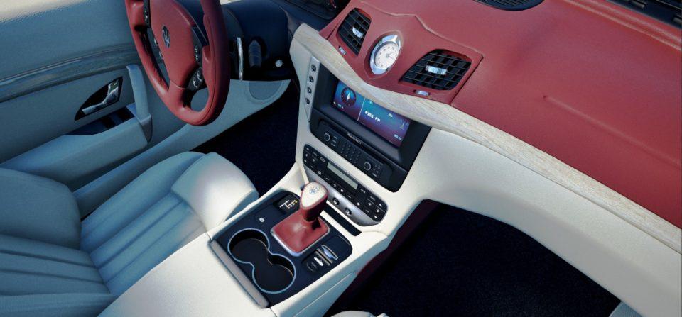 Maserati GranCabrio Interior 03 (Unreal Engine)